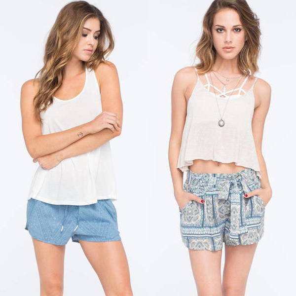 Women's shorts trends summer 2016