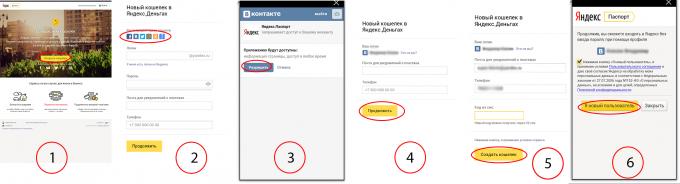"""Как создать электронный кошелёк """"Яндекс Деньги""""?"""