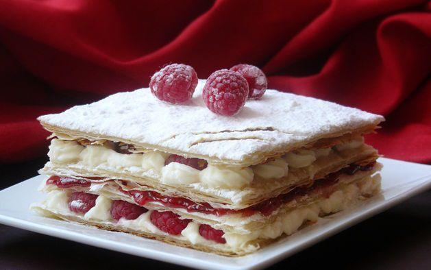 Десерт мильфей рецепт с фото