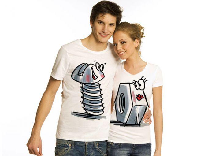 Paired t-shirts for lovers
