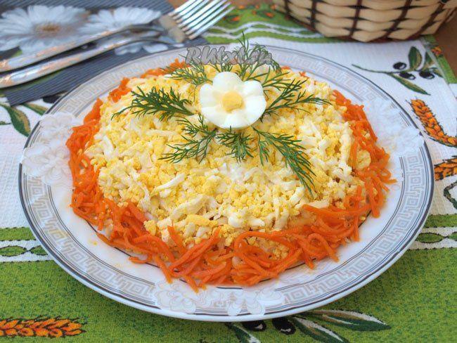 Салаты с морковью по-корейски рецепты