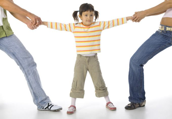 As not to harm the child in the divorce