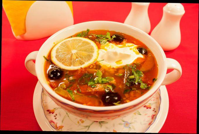 Как приготовить суп солянку рецепт с