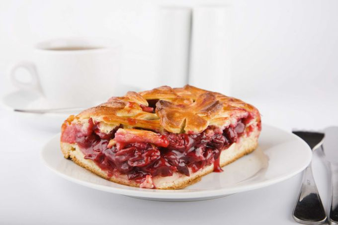 Air cherry pie