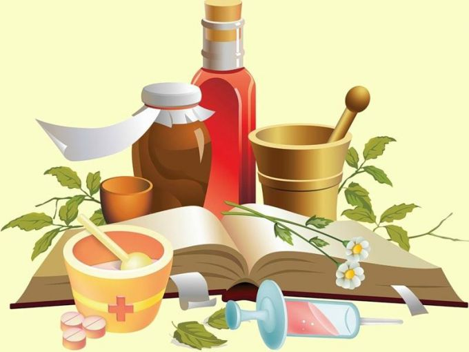 The treatment of colds folk medicine