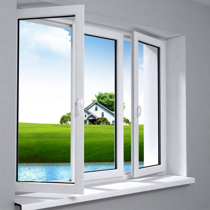 How to care for plastic Windows