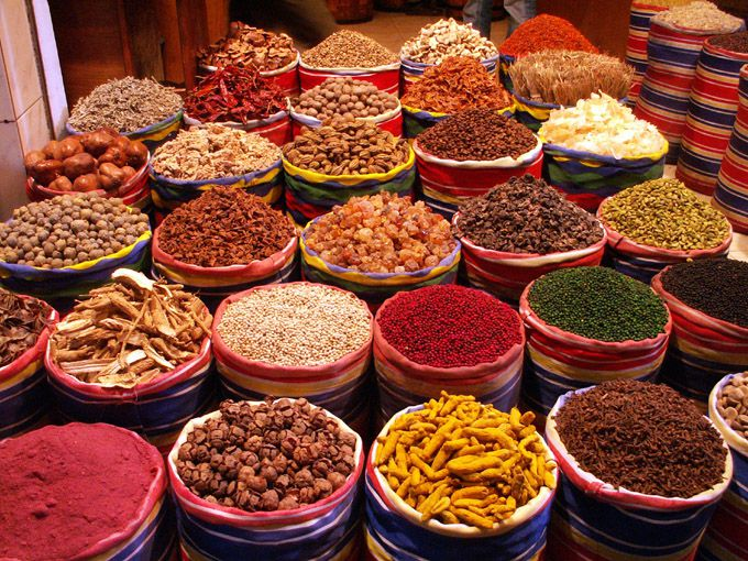 Herbs and spices to help in the kitchen