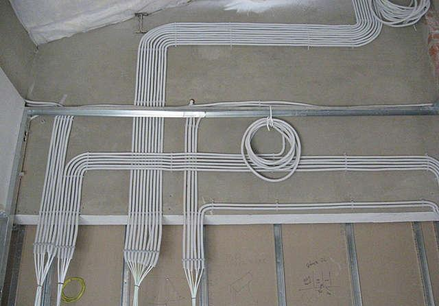Nuances in calculating the length of cable for wiring
