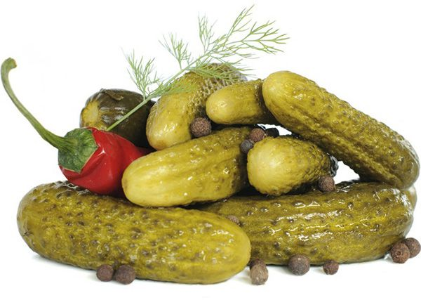 How to cook a delicious pickled cucumbers