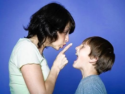 Как обходиться с гневом ребенка