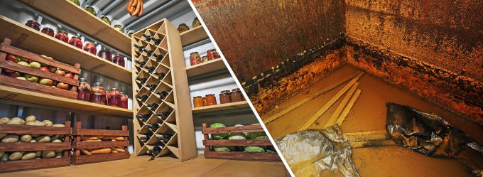 The need and design features of earthen cellars