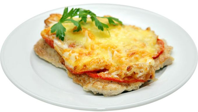 Свинина по-французски с помидорами в духовке рецепты
