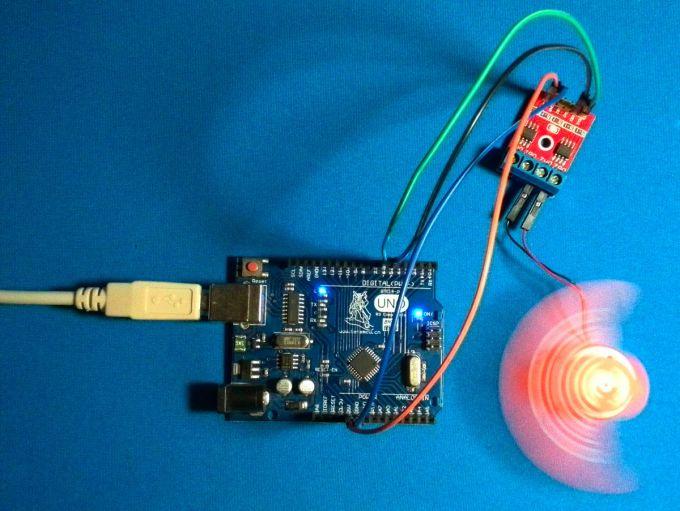 Управление коллекторным двигателем с помощью Arduino