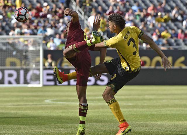 Копа Америка 2016: обзор матча Ямайка - Венесуэла