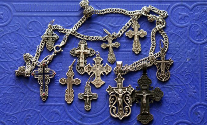 Is it possible to buy Orthodox crucifix in a jewelry store