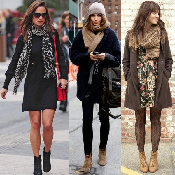 Fashion scarves and shawls spring-summer