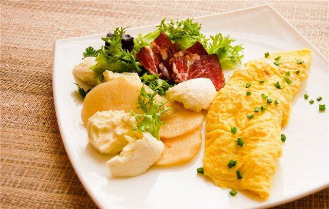 How to cook an omelet in French