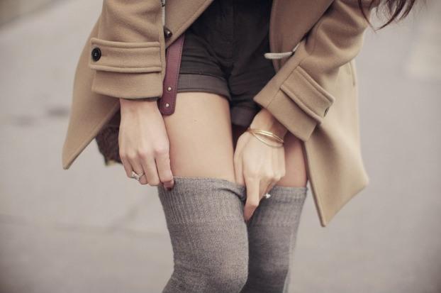 С чем носить женские гетры