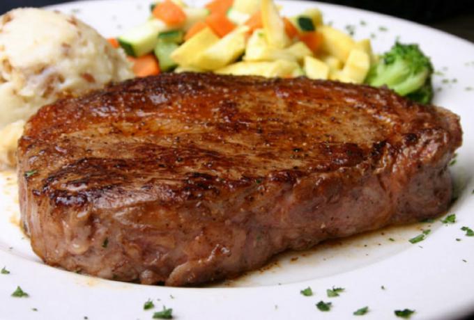Как приготовить антрекот из говядины