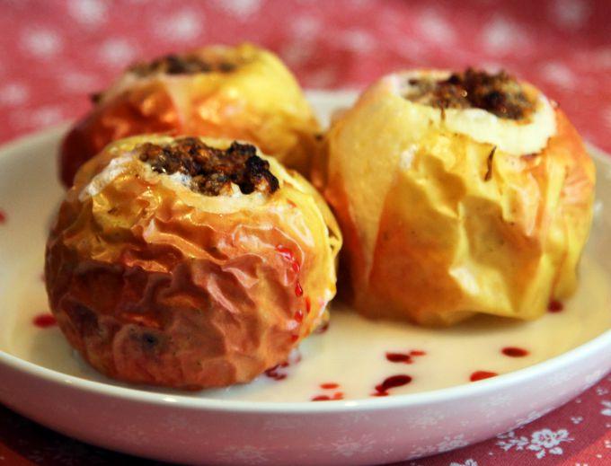 Как приготовить ванильные печеные яблоки