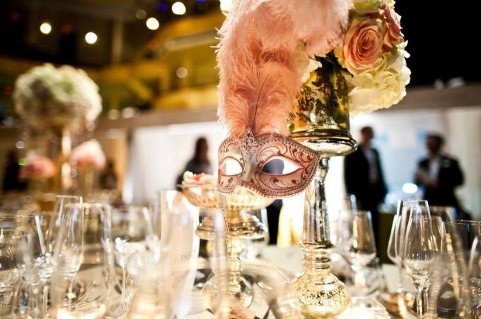 Оформляем свадьбу в венецианском стиле