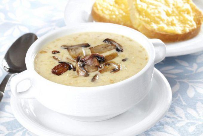 Диетический сырный суп-пюре