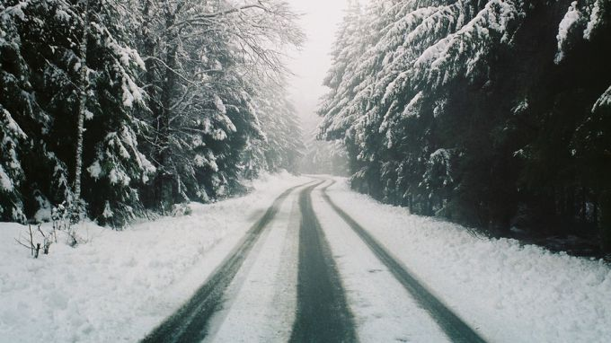 Правила безопасности езды в снегопад