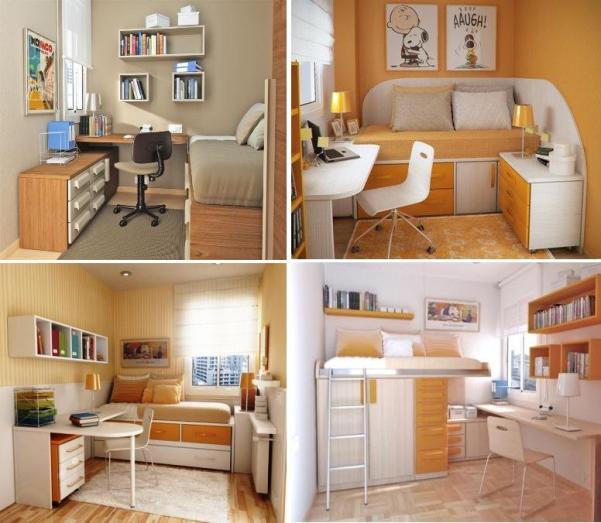 Как визуально увеличить пространство в маленькой комнате