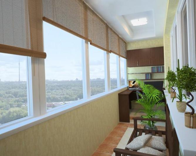 Дизайн балкона и лоджии: оформление, фото, идеи.