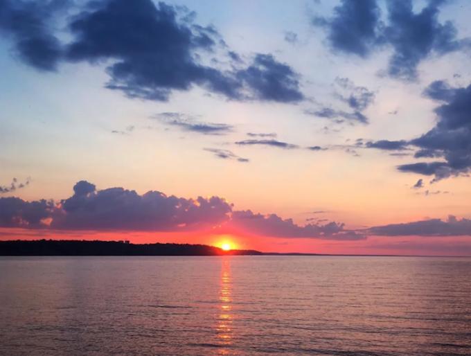 Как фотографировать впечатляющий закат на смартфон