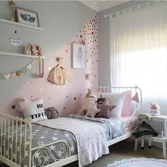 уютная детская комната для девочки