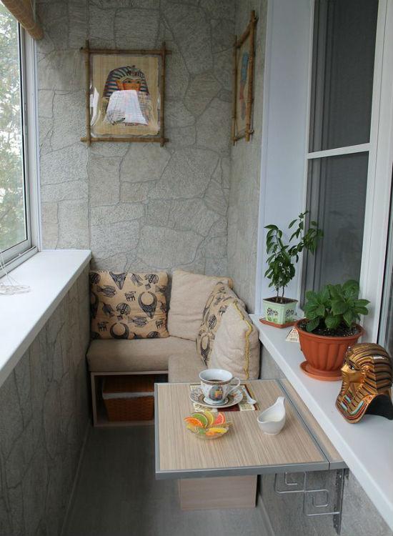 Тайна совершенствования маленького балкона