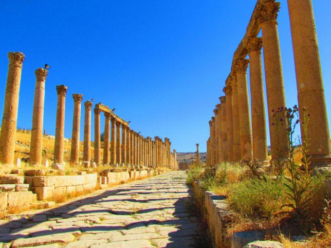 Античный город Джираш