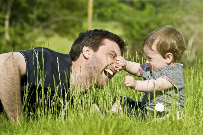 Разрешите своему мужу стать хорошим отцом
