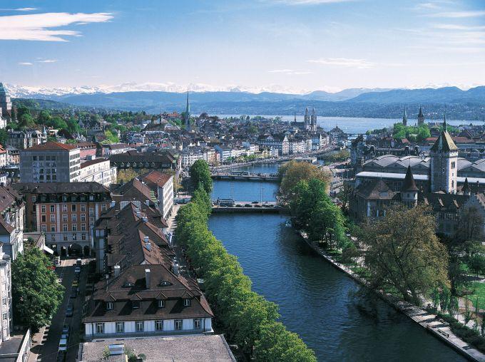 Начните знакомство со Швейцарией с Цюриха