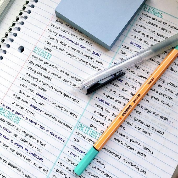 Как писать продуктивные конспекты