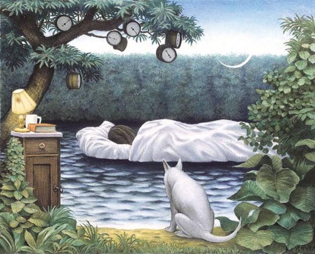 Как формируются сновидения