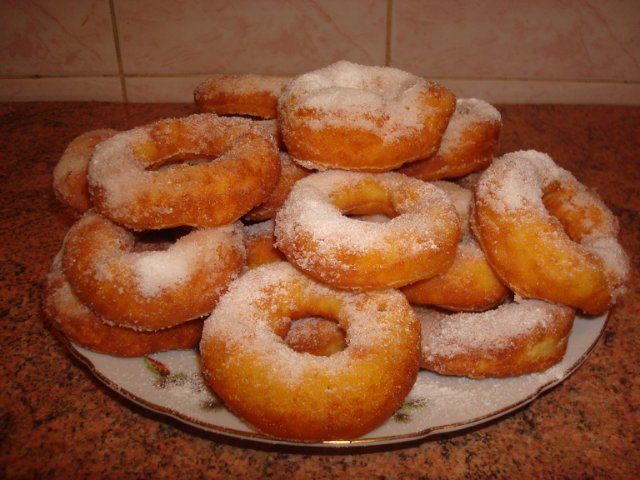 Пончики. рецепт