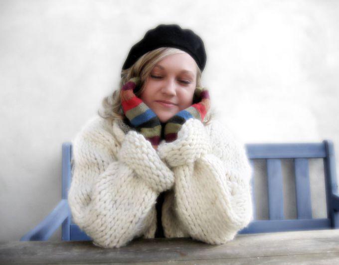 Как связать простой кардиган спицами, источник фото: dreamstime.com