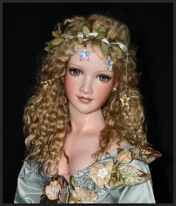 Как сделать волосы кукле с поддержкой клея