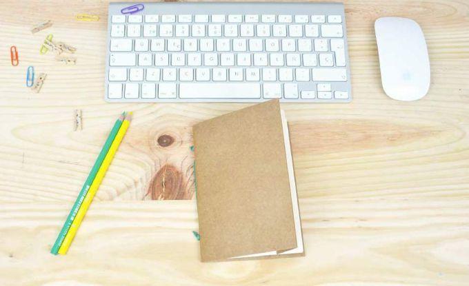 Как сделать блокнот своими руками за 5 минут?