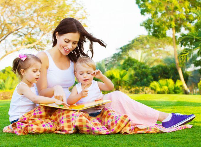 малыш и книга