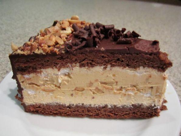 Шоколадный торт-меренга