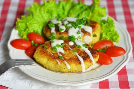 Картофельные зразы с печенью фото рецепт