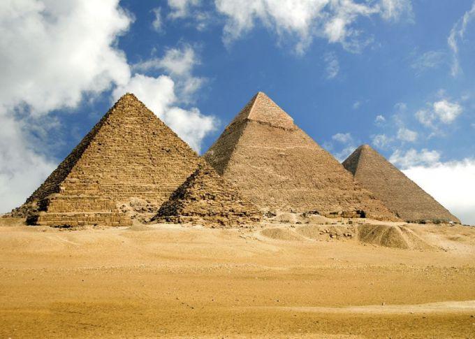 Египетские пирамиды: загадки