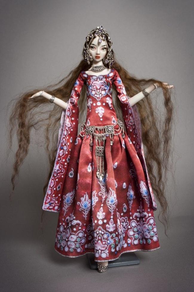 Как выбрать мех для волос куклы