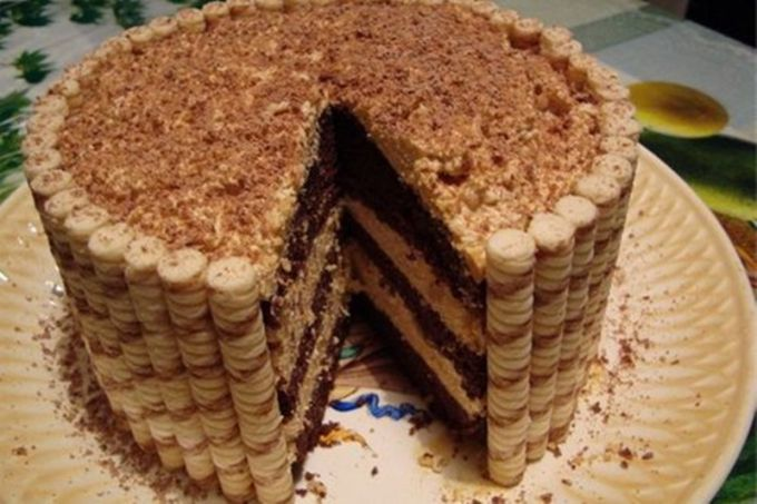 Как приготовить торт из печенья без выпечки