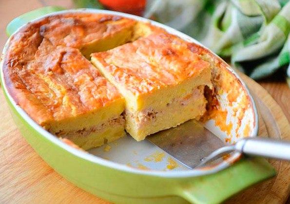 запеканки с фаршем с сыром в духовке рецепт