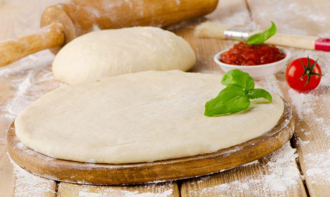 как сделать тонкое тесто для пиццы рецепт