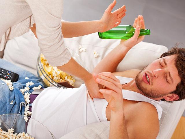 Как вытянуть мужа из запоя